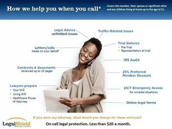 LegalShield, legal shield, prepaid legal services